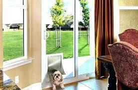 patio pet door insert sliding glass dog doors for installation