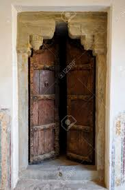 Old Door Old Door At The Red Fort Jaipur India Stock Photo Picture And