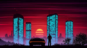 Discover the ultimate collection of the top city wallpapers and photos available for download for free. Cyber City Sunset 1920x1080 Sunset City Digital Painting Wallpaper