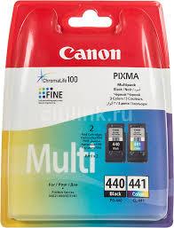 Купить <b>Картридж</b> (двойная упаковка) <b>CANON PG</b>-<b>440</b>/<b>CL</b>-<b>441</b> ...