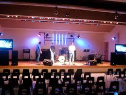 diy portable stage small stage lighting truss. stage design april 2009 diy portable small lighting truss u