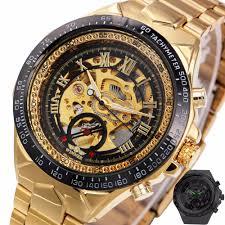 winner skeleton watches reviews online shopping winner skeleton 2017 new fashion men mechanical watch winner golden top brand luxury steel automatic classic skeleton wristwatch best gift
