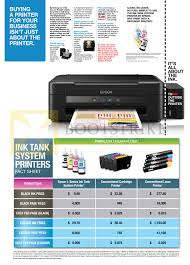 Epson Ink Tank System Printers Printing Cost Comparison
