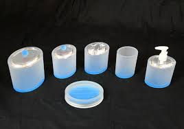 blue glass bathroom accessories. Attractive Frosted Glass Bathroom Accessories Blue Acrylic Accessoriessets Buy