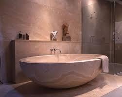Minimalist Marble Tub Ideas in Japanese Bathroom Design