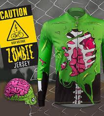 Aero Tech Designs Halloween Zombie Long Sleeve Cycling Bike