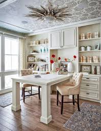 Home office layouts Modern Make Working From Home Easier With These Clever Layouts For Doubleduty Home Offices Pinterest Enough Space For Two Tips On Creating Doubleduty Home Offices In
