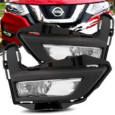 Details About For 17 18 Nissan Rogue X Trail Clear Fog Lights Bumper Driving Lamp Kit Switch