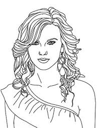 Small Picture Taylor Swift Nominated for Best Album Coloring Page Color Luna
