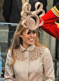 Royal British fascinator hat