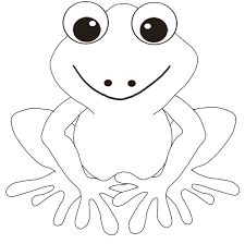 frog pictures to color