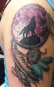 Native Dream Catcher Tattoos Meaning and History of Dreamcatcher Tattoos InkDoneRight 6