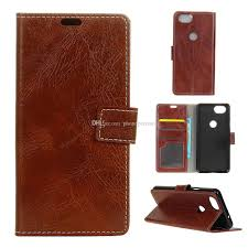 luxury pull up leather wallet pu leather phone case for htc google pixel 3 pixel 3xl pixel 2 holster pu leather case google pixel 3 pixel xl3 pixel 2 case