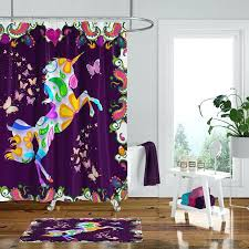 parrot shower curtain asda source unicorn shower curtain cat s snapat