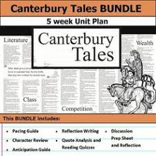 canterbury tales seating arrangement canterbury and students canterbury tales unit bundle