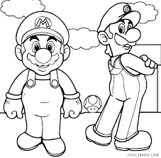 Coloring Pages Mario Baby And Coloring Pages Mario And Sonic
