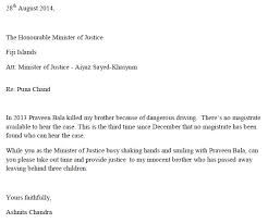 Leaking Justice Fff Minister Bala S Magistrate Peni Dalituicama