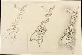 kurt cobain high school art drawing stratocaster guitar culture kurt cobain high school art drawing stratocaster guitar culture stratoblogster