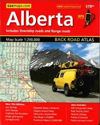 Alberta Grid Chart Alberta Back Road Atlas Canadian Cartographics Corporation