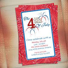 4th of july birthday party invitation 156240jpg