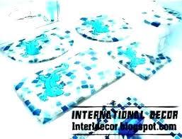 aqua blue bath rugs rug mats bathroom large sets royal page 2 awesome bathr