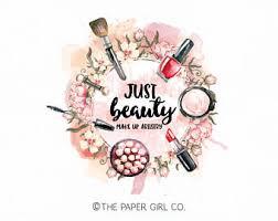 make up logo beauty logo cosmetics logo makeup artist logo stylist logo premade logo design