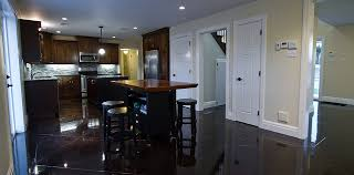 Stained Concrete Floors contemporary-kitchen