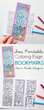 Best 25 Bookmark Template Ideas On Pinterest Coloring Bookmark