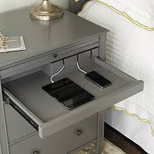 bedside table with charging station. Exellent With Sidney Side Table With Charging Station Item Number MB436 54900 In Bedside With Pinterest