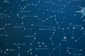 Star Charts For Southern Hemisphere Southern Hemisphere Star Chart Drawn Map Southern Hemisphere