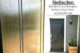 stain a fiberglass door fiberglass doors why we chose fiberglass and how to stain them remove stain a fiberglass door