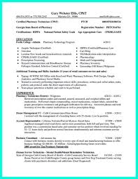 Pharmacy Technician Resume Nice What Objectives To Mention In Certified Pharmacy Technician 34