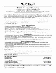 Corporate Communications Specialist Sample Resume New Event Resume
