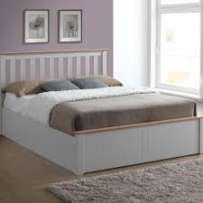 photb5peg phoenix 5ft king size pearl grey ottoman bed