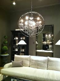 wonderful ethan allen chandeliers pottery barn chandeliers iron globe chandelier with 9 light gray