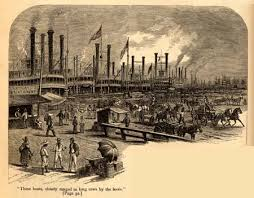 Image result for steamboat travel on the historic buffalo trace in pencil 1816
