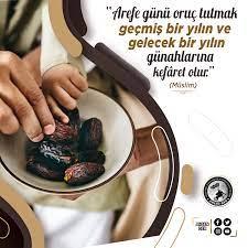 """Ahsen-Der - """"Arefe günü (yarın) oruç tutmak, geçmiş bir..."""