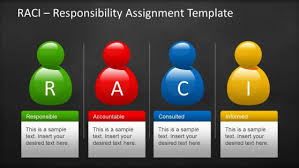 Responsibility Assignment Matrix Templates For Powerpoint