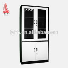 office metal cabinets. 4 glass door steel godrej cupboard design household filing cabinet office storage cabinets with metal