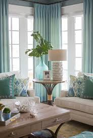 extravagant blue and green kitchen curtains decorating