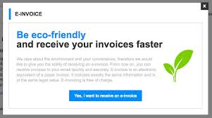 Free Electronic Invoice Delivery Of E Mail Invoices For Purchases In Online Stores