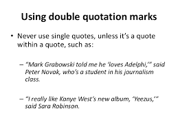 Quote Inside A Quote How To Write A Quote Within A Quote Mlabx