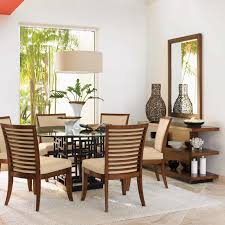 Tommy Bahama Kitchen Table Tommy Bahama Home Ocean Club 9 Piece Dining Set Reviews Wayfair