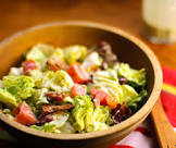 bacon  lettuce and tomato salad