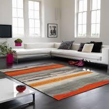 boca bc12 oslo stripe orange rug by asiatic 1