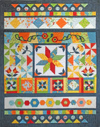 Quilt Sampler carries an extensive collection of quilting supplies ... & Lets GO Sampler 52 inch by 68 inch Quilt Pattern Designed by Barb Sackel of  Rose Cottage Quilting for the GO Adamdwight.com