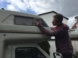 Folienentfernung Am Wohnmobil Kleine Kaiser