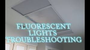 Fluorescent Light Problems Fluorescent Lights Troubleshooting