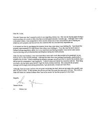 Endorsement Letters Endorsements Real Estate 19