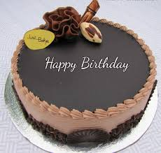 Happy Birthday Chocolate Cake For Husband With Name